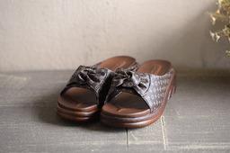 참 안나/밤색 (신발)